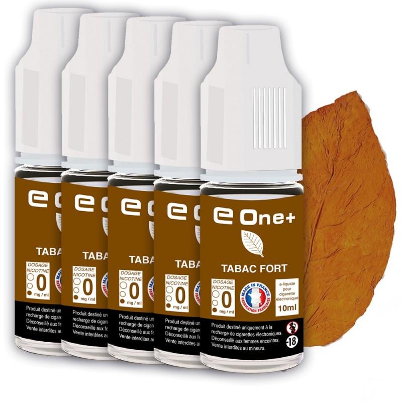E-liquide Arôme Tabac Fort PACK DE 5 FLACONS
