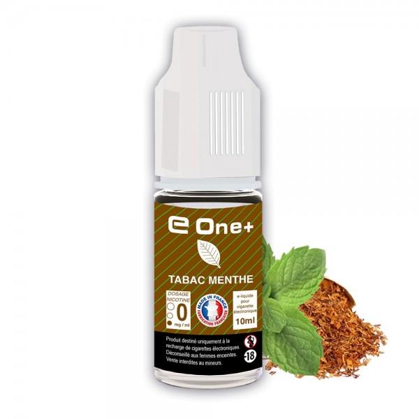E-liquide Arôme TABAC Menthe x1 flacon de 10 ml