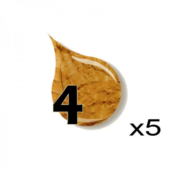 E-Liquide le quatre pack de 5