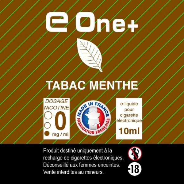E-liquide Arôme Tabac Menthe PACK DE 5