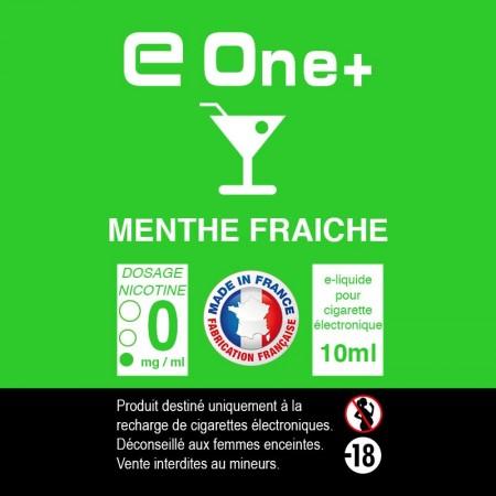 E-liquide Arôme Menthe Fraîche x1 flacom 10 ml