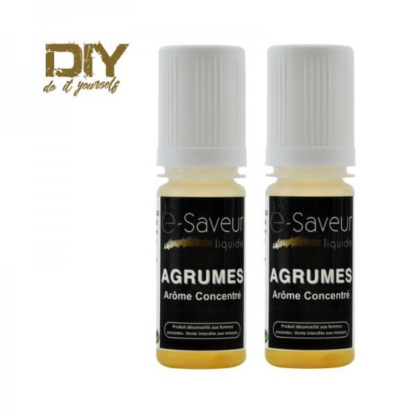 Arômes concentré Agrumes 10ml pack de 2
