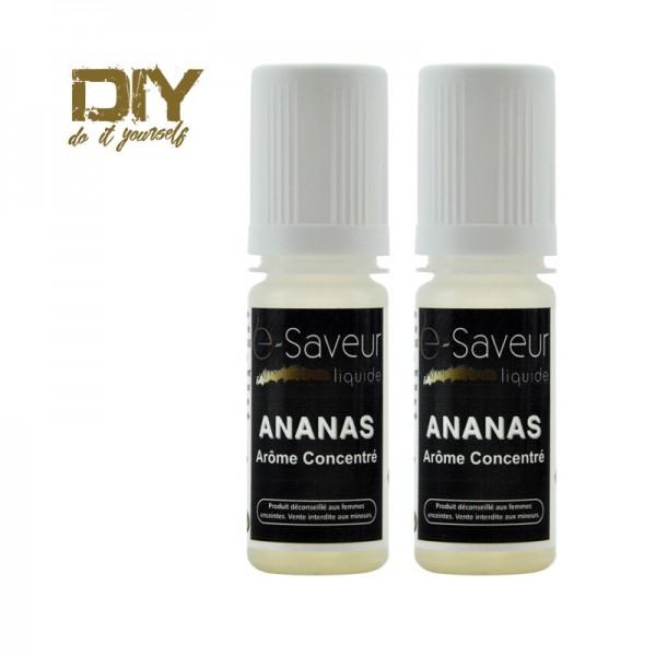 Arômes concentré Ananas 10ml pack de 2