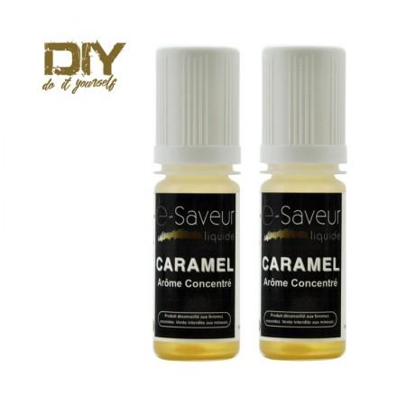 Arômes concentré Caramel 10ml pack de 2