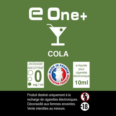 E-liquide Arôme Cola x1 flacon 10 ml