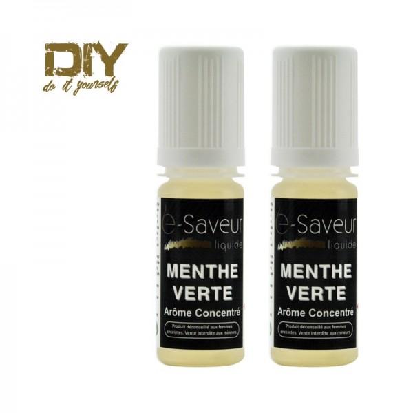 Arômes concentré Menthe Verte 10ml pack de 2
