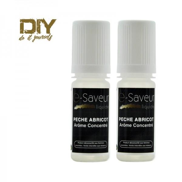 Arômes concentré  Pêche Abricot 10ml pack de 2