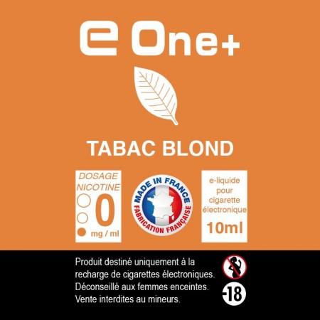 E-liquide Arôme TABAC Blond PACK DE 3