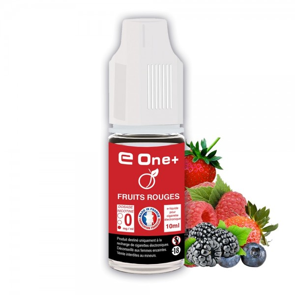 E-liquide Arôme Fruit rouge x1 flacon 10 ml