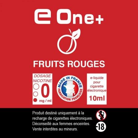 E-liquide Arôme fruit rouge PACK DE 3 FLACONS