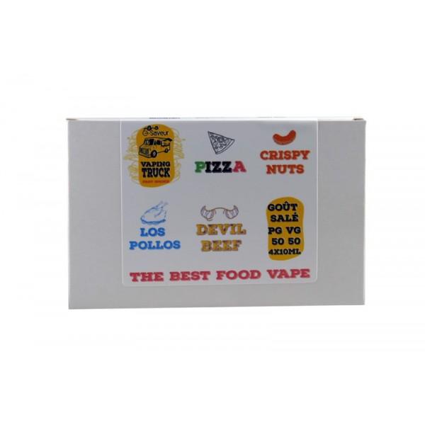 Le pack dégustation de Vaping Truck by E-saveur