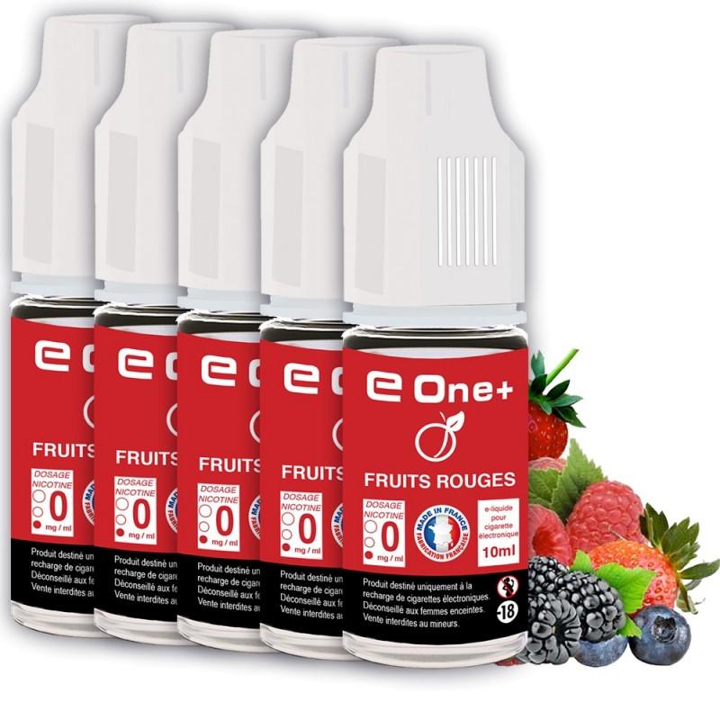 E-liquide Arôme Fruit Rouge PACK DE 5 FLACONS