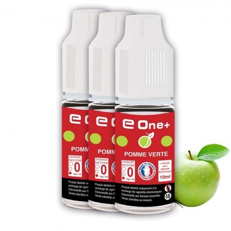 E-liquide Arôme Pomme Verte PACK DE 3 FLACONS