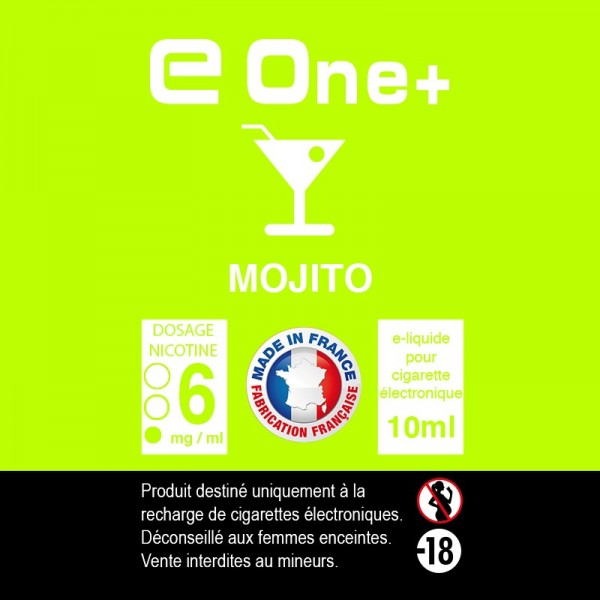 E-liquide Arôme Mojito PACK DE 5 FLACONS