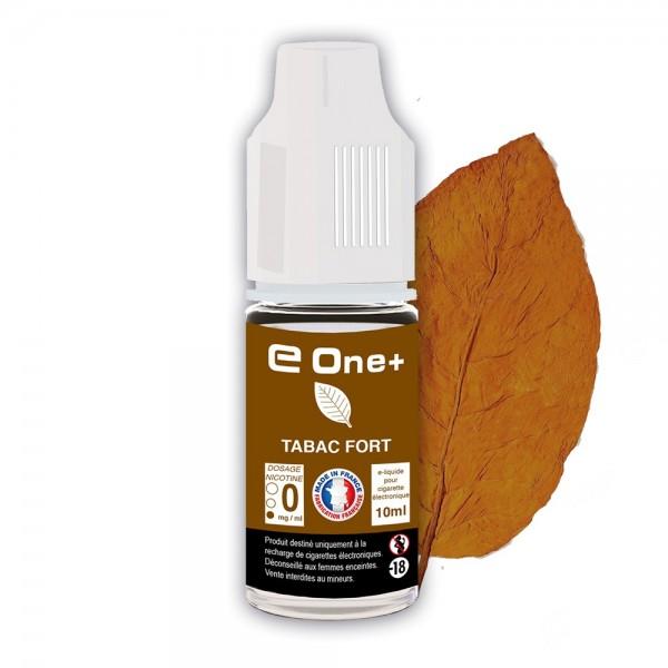 E-liquide Arôme Tabac Fort x1 flacon 10 ml