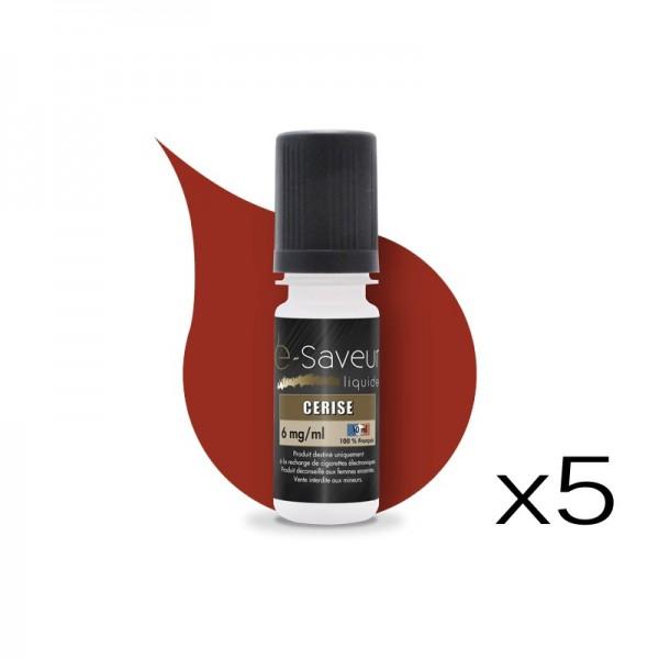 E-liquide Cerise pack de 5
