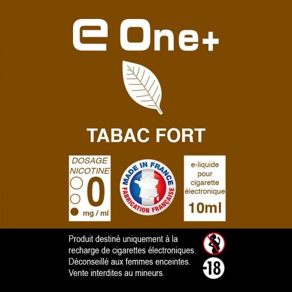 E-liquide Arôme Tabac Fort PACK DE 3 FLACONS